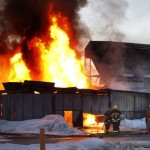 Stadium Fire - Baldwinson Insurance Brokers - Winnipeg, Manitoba